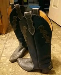 Blue cowgirl boots Phenix City, 36869