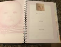 Baby memory book journal