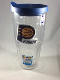 White and blue Pacers Tervis Tumbler NEW Alexandria, 22303