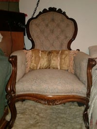 Victorian parlor chair Rising Sun, 21911