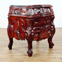 Used Carved Rosewood Nightstand 1015191 For Sale In