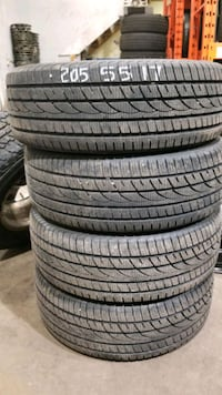 4 used snow tires  snow star. 205 55 17   Hamilton, L8E 2W8