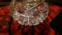 Heavy vintage crystal ashtray Edmonton, T5E 1M1