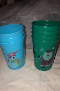 Seasonal plastic cups