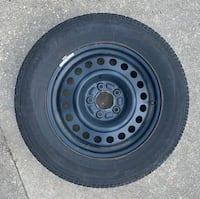 16 inch steel wheel and tire