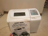 Black decker bread maker OBO Edmonton, T5P 4H2