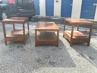 Set of fifties moderate furniture tables  West Whiteland, 19341