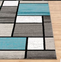 Brand new area rug 6'6x9ft price is firm Mississauga, L5J 4E6