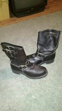 Motorcycle Boots 9 1/2 size