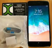 Apple iPhone 6 Plus 16GB AT&T T-MOBILE UNLOCKED St. Augustine, 32086