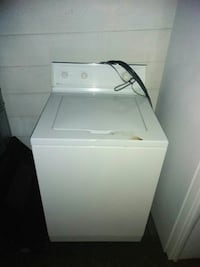 white top-load clothes washer Surrey, V3R 3B8