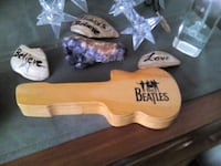 Wooden shaped guitar for watch...no watch