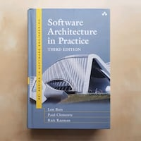 Software architecture in practice by Len Bass Vancouver, V6H 1S2
