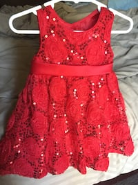 Beautiful red dress 12mos Oroville, 95965