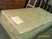 white and gray floral mattress Clyde