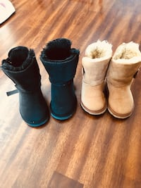 Two UGG kids shoes , just used couple time, like new,good condition,size brown 8,black 9, each 45 Edmonton