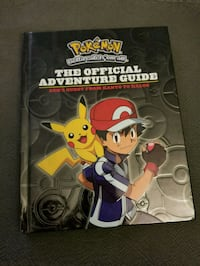 Pokemon - The Official Adventure Guide (hardcover)