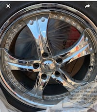 20 inch Chrome Helo Rims and Tires Bowie, 20721