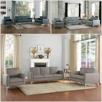 Soho Brownish Gray Modern Living Room Set Missouri City, 77489