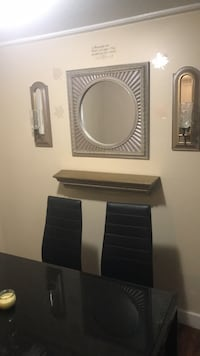 black and white wooden vanity table Kissimmee, 34746