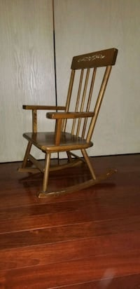 "child kid rocking chair. est 26"" tall."
