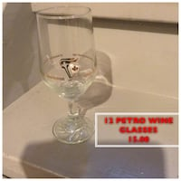 Never used.  Petro wine glasses Toronto, M6G 3G9