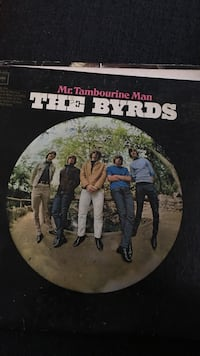 The Byrds vinyl album Barrington, 60010