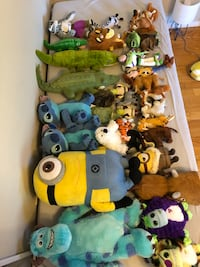 A bunch of stuffies for 49$ text me for specific ones