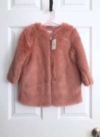 Gap toddler faux fur coat size 3T Mississauga, L5M 0H2