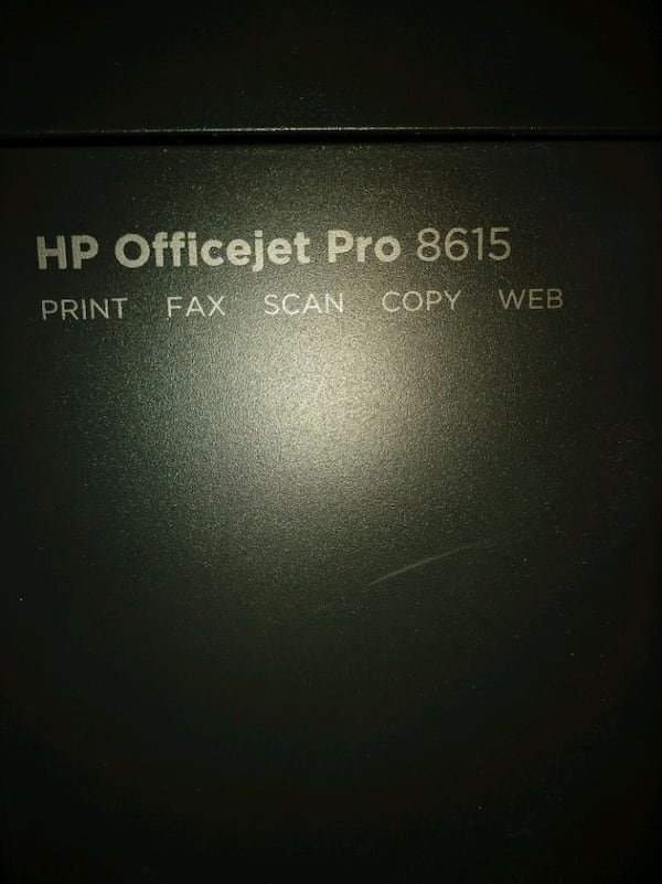 HP office jet pro 8615 all in one printer 748d9224-9cb5-4cf5-9edc-c0f5b0a0be38