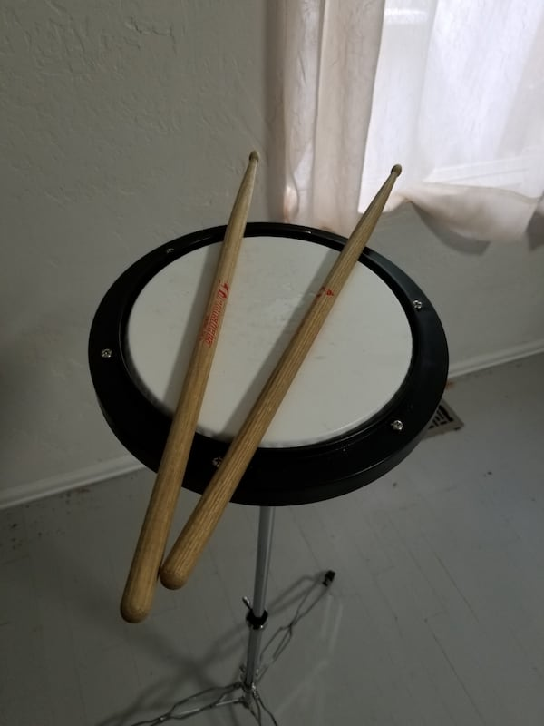 Bell and practice pad set 4