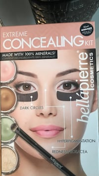 Bella Pierre Cosmetics Extreme Concealing Kit box