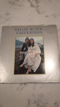 Close to you by carpenters vinyl record and case.  Haymarket, 20169