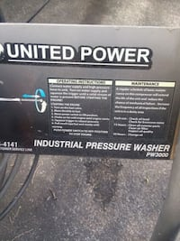 Industrial power washer JUST serviced works great  Chambersburg, 17201