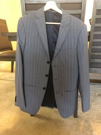 Gray and black pinstripe blazer Rockville, 20852