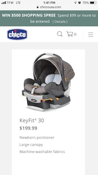 Black and gray chicco car seat College Station, 77840