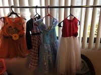 Kids dress and costume $50 all! Great deal! Mississauga, L4Y 2N9