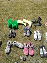 assorted pairs of shoes and boots Ilderton, N0M 2A0