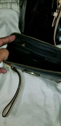 black and gray leather crossbody bag New Orleans, 70129