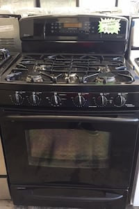 Gas stove electric oven excellent condition 4 months of warranty