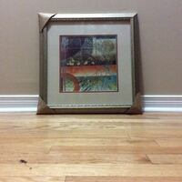 two brown wooden framed painting of brown wooden house Pickering, L1V 0C3