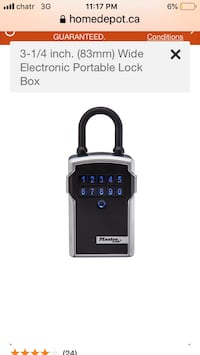 Bluetooth lockbox Calgary, T3B 2M9