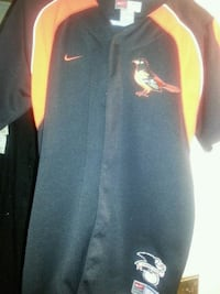 New XL GENUINE BORDER ORIOLES SHIRT Glen Burnie