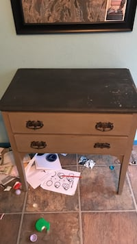 brown wooden 2-drawer chest Citrus Heights, 95621