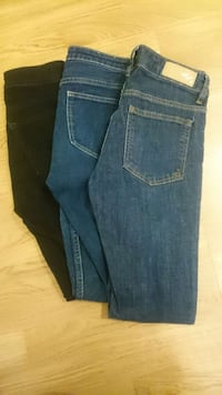 jeans 26, 27inch, size 36
