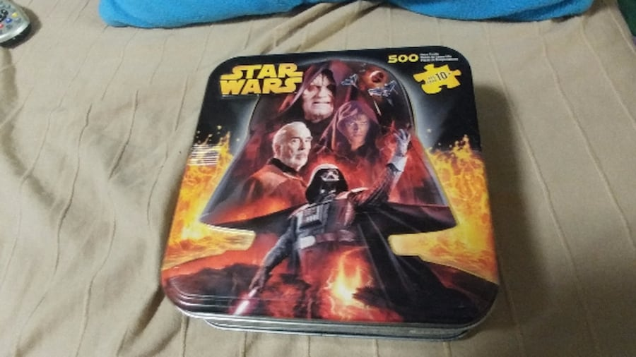 Used Star Wars Revenge Of The Sith 500 Piece Puzzle Sealed For Sale In Somerset Letgo