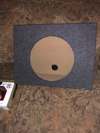 "12"" Shallow-Mount Subwoofer Enclosure (2) ($30 a piece) Elk Grove, 95624"
