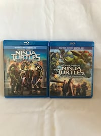 TMNT Movie Collection!!