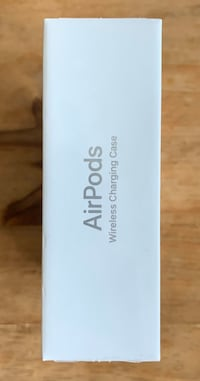 AirPods wireless charging sealed unopened