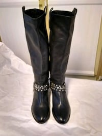 New, never worn Stoneridge Black Leather Boots Toronto, M9A 2X4